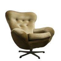 Mid-Century Modern Design Egg Swivel Chair, 1960's   #78973