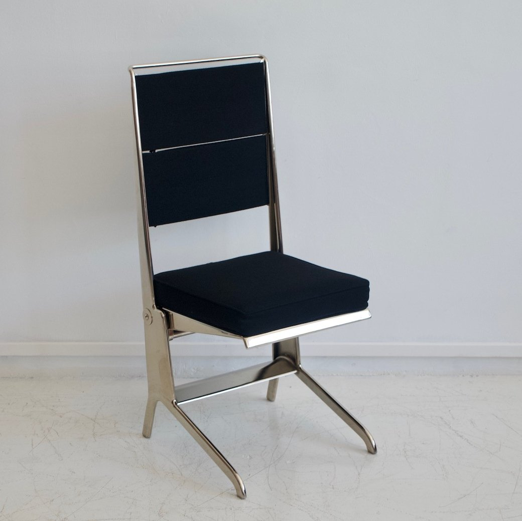 Jean Prouv Folding Chair by Tecta 1980s  82933