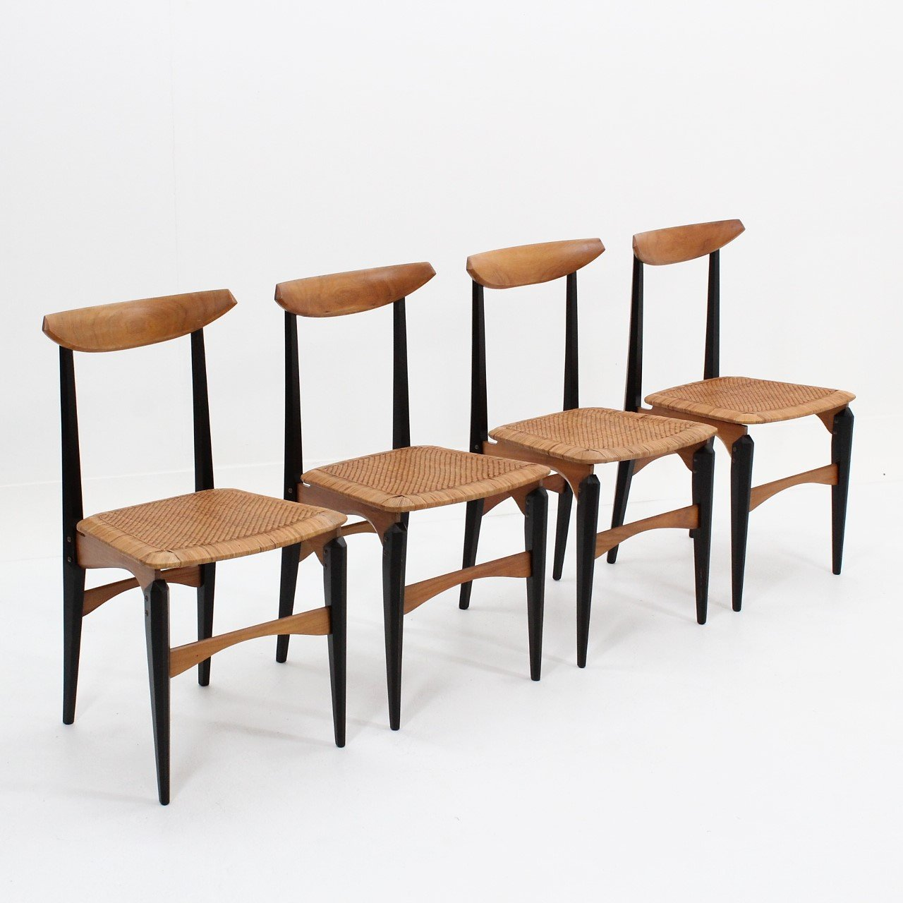 dining chairs italian design bedroom chair gumtree mid century with star seats 1950s 95710