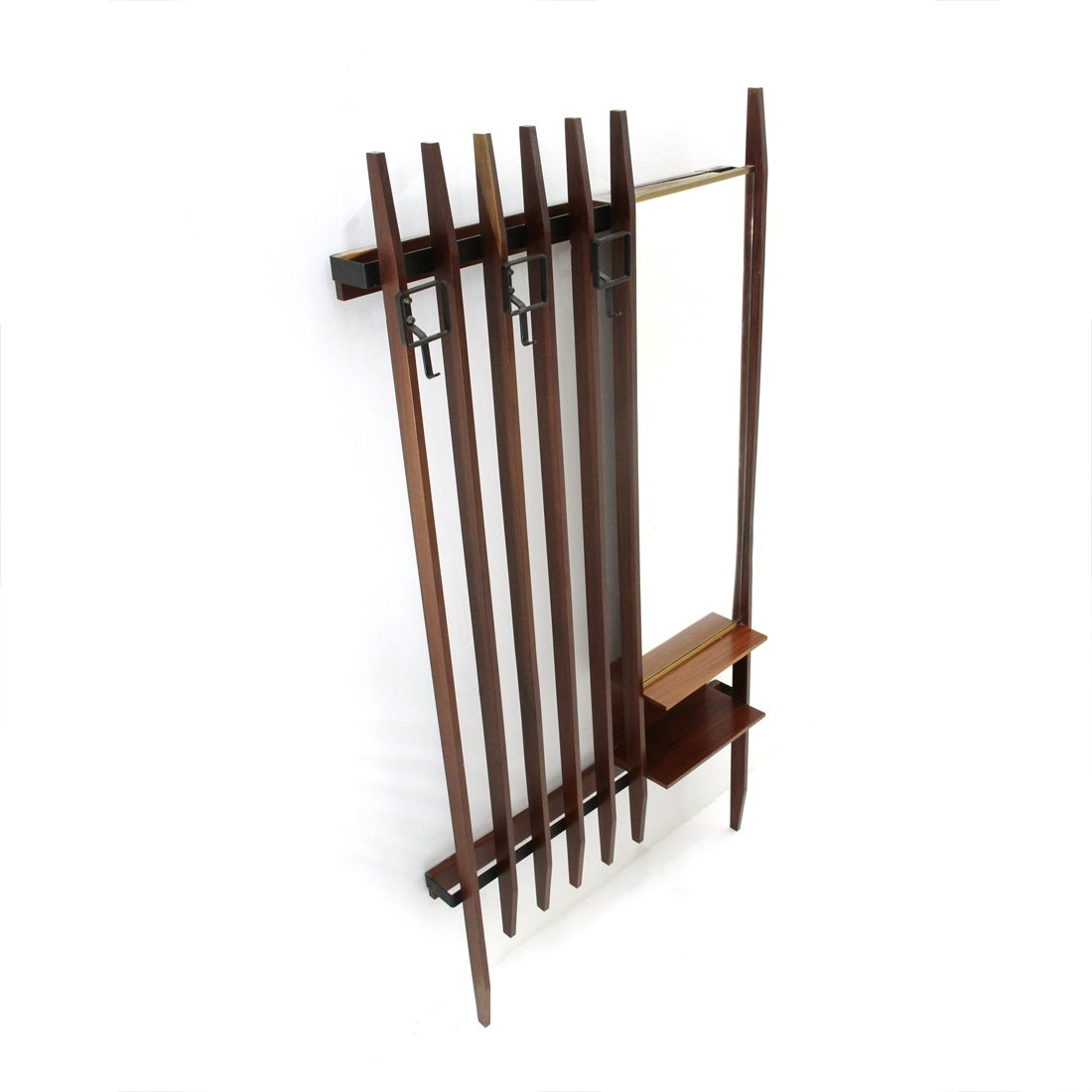 metal italian wall coat rack