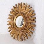 Belgian Sunburst Mirror By Deknudt 1960s 109038