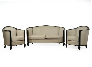 French Art Deco Chairs Sofa By Paul Follot C1920