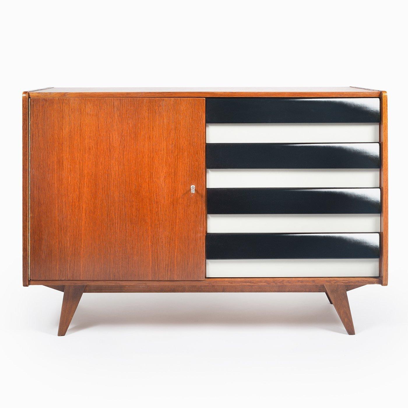 Vintage cabinet U-458 by Jiří Jiroutek for Interier Praha. 1960s   #128442