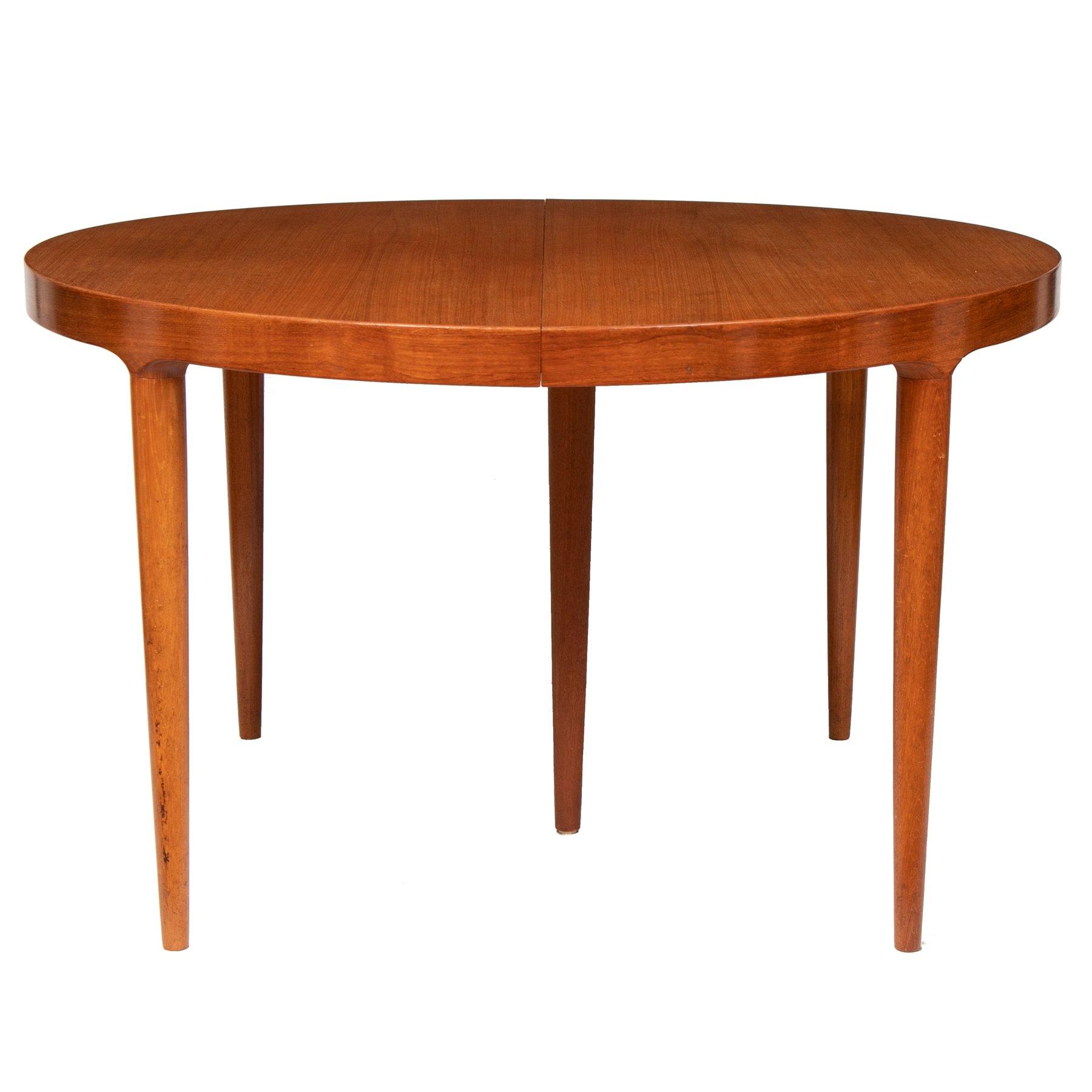 Danish Midcentury Teak Extending Dining Table C 1960 135041