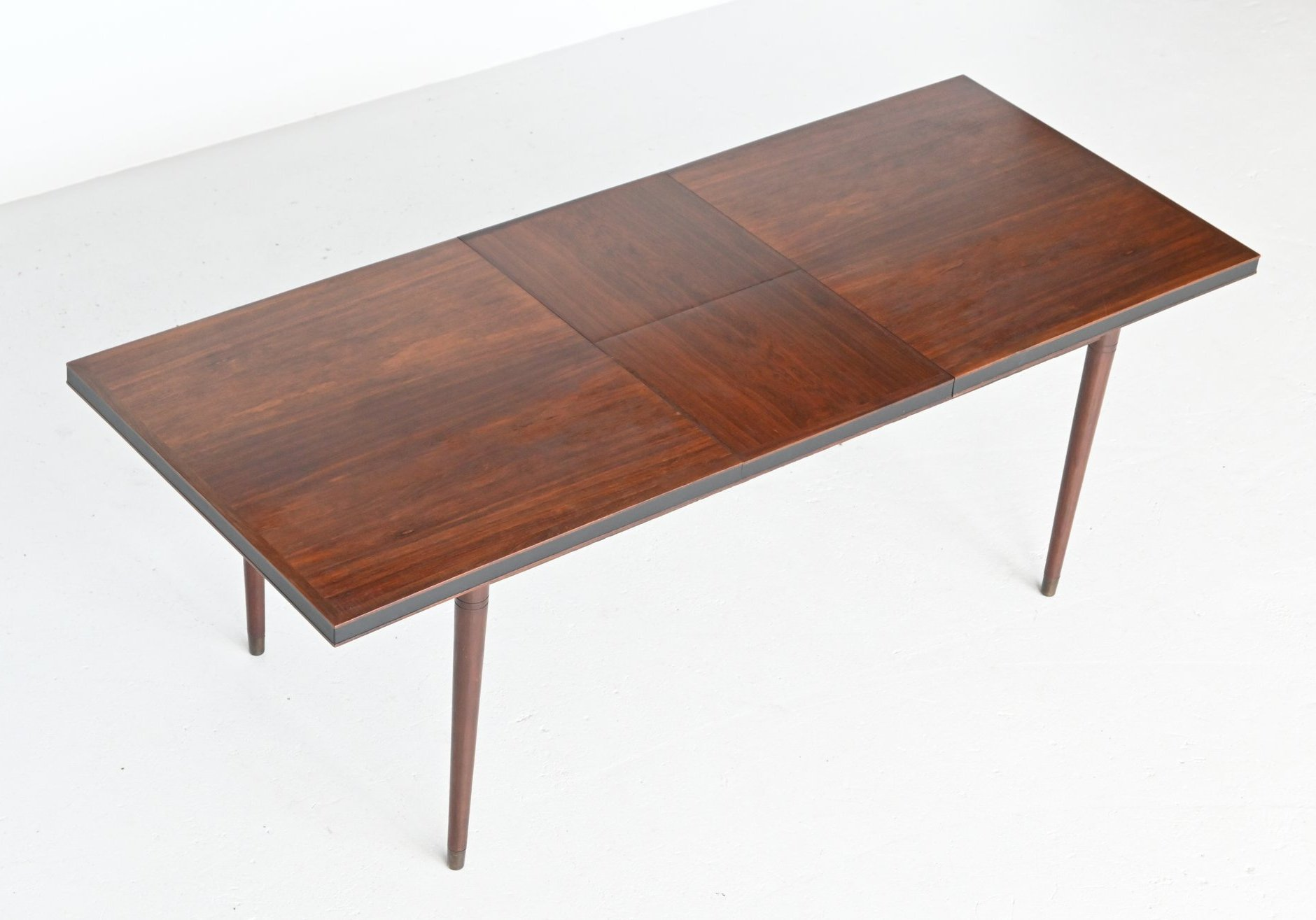 Unusual Extendable Rosewood Dining Table Denmark 1960 138783
