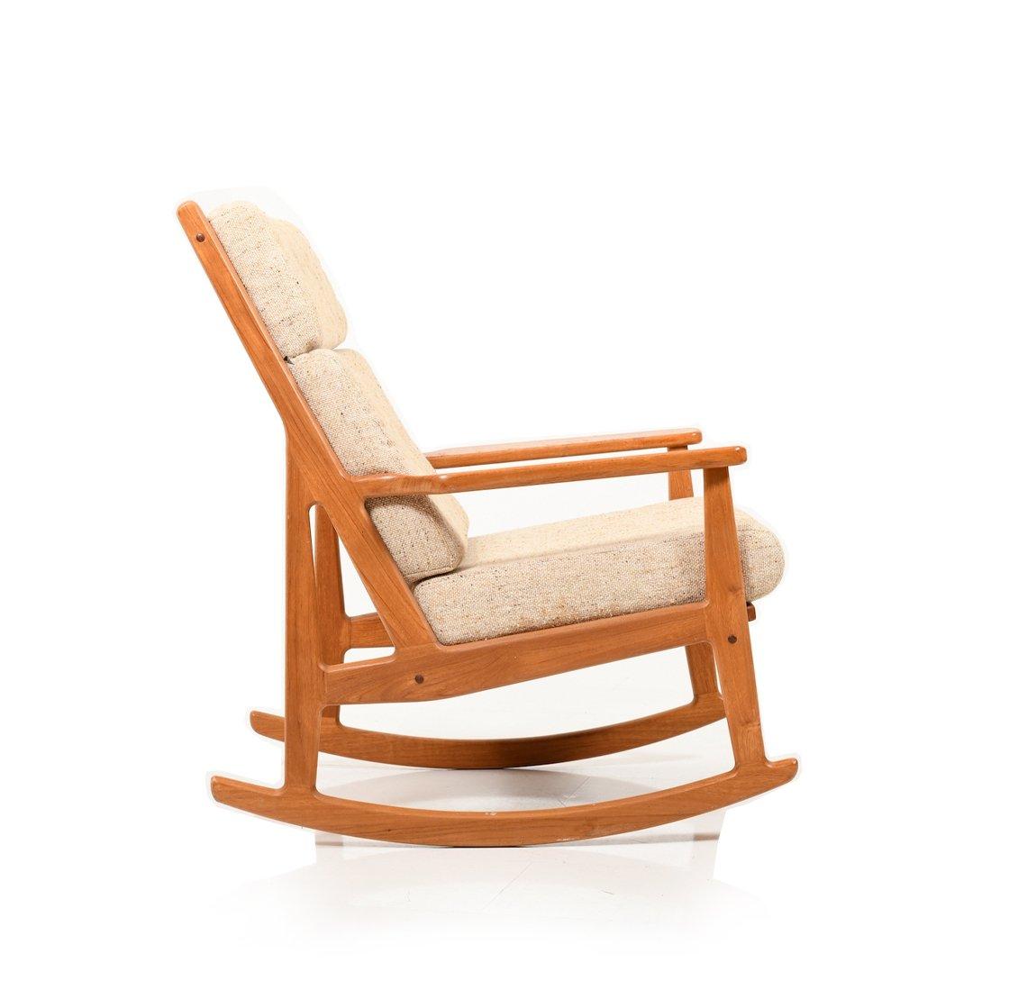 Mid Century Danish Rocking Chair In Teak 141464