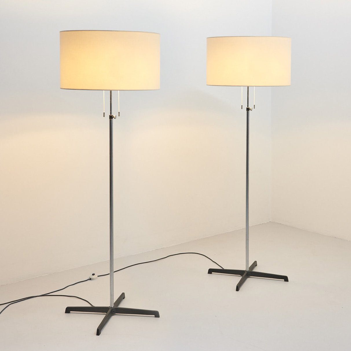 Leuchten Bilder Pair Of Floor Lamps By Staff Leuchten, Germany 1960's | #145328