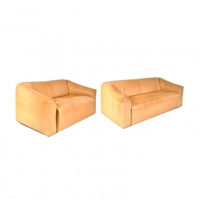 bauhaus sofas cama one piece sofa slipcover diy de sede 204 vintage design items set of two ds47 by switzerland 1960s