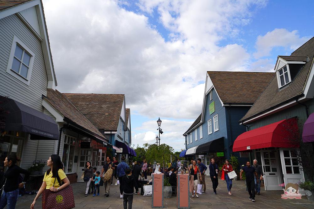英國倫敦 Bicester Village Outlet 比斯特購物村,折扣與退稅 (6) - 說走就走!V歐妮旅行攝