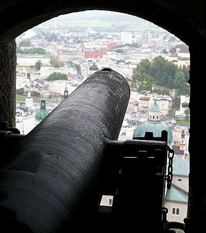 Salzbourg  Hohensalzburg la forteresse la mieux prserve dEurope