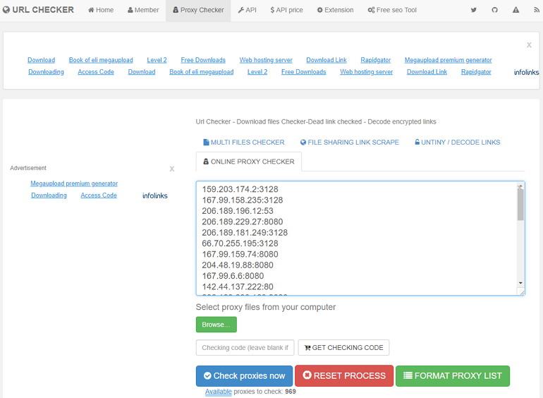 Proxy Checker 貼上 IP Port 埠檢查代理伺服器存活與速度服務網   跳板俱樂部