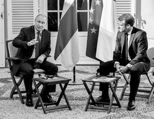 Макрон продемонстрировал Путину непонимание России