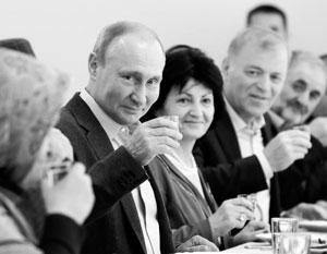 За что Путин выпил двадцать лет спустя
