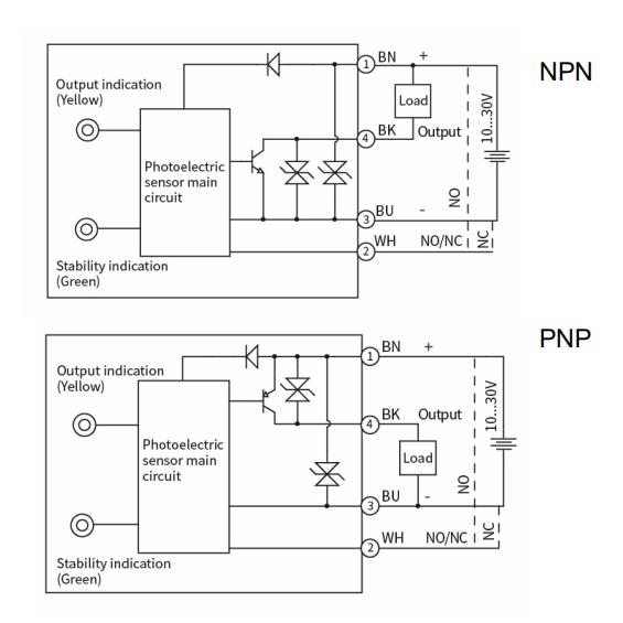 Supply LANBAO IP67 photoelectric sensor 40cm proximity