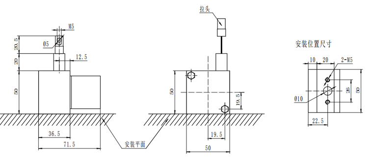 Supply String Encoder Linear Rope-Based Length Encoders