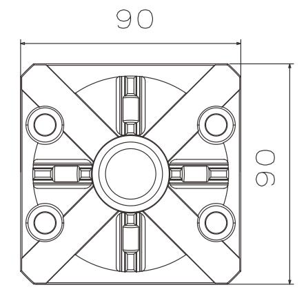 China High quality Manual Chuck D90 (Quick Chuck 100P