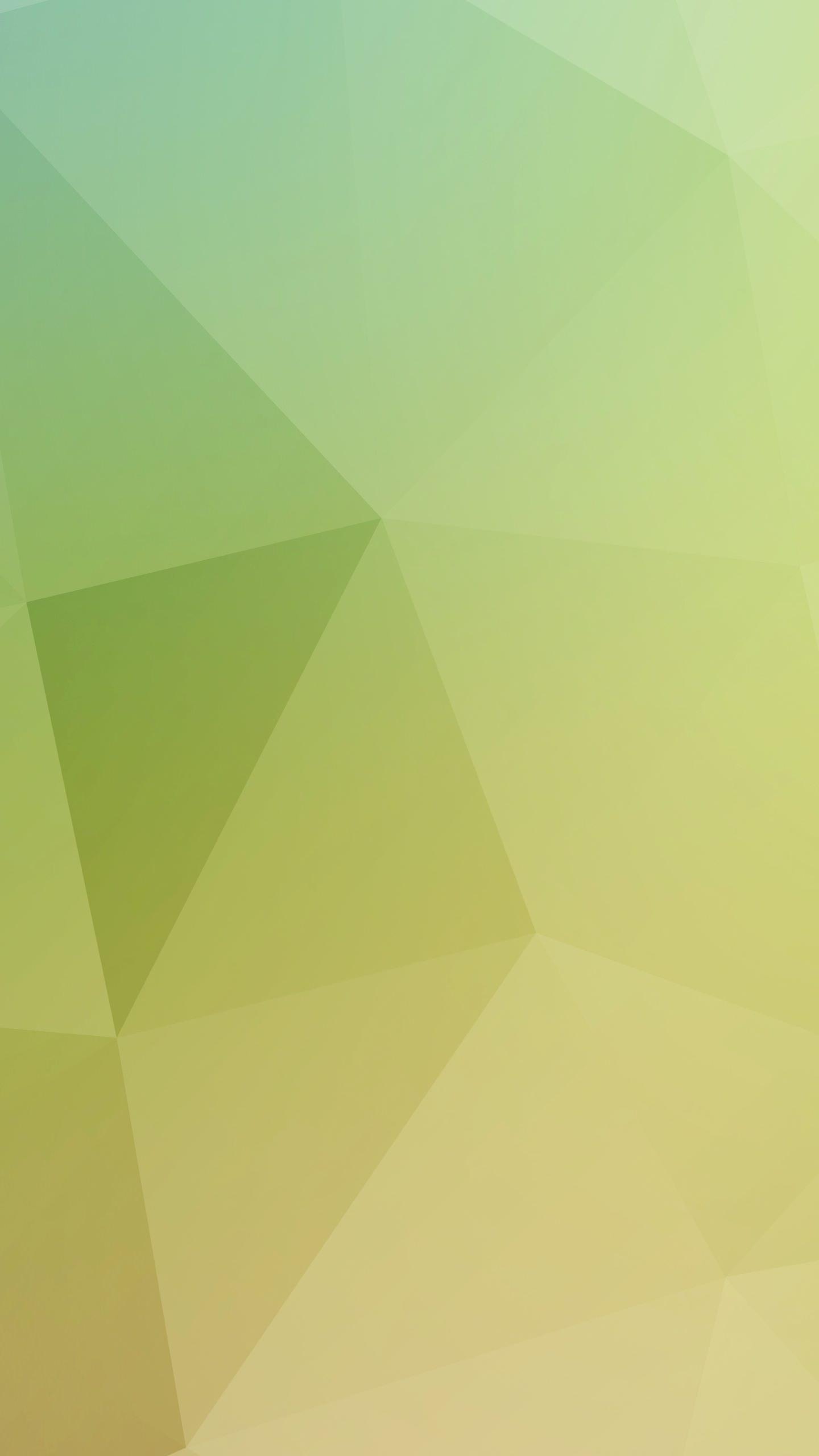 Pola kuning putih hijau  wallpapersc Android