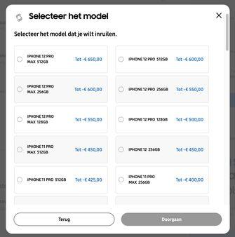 Trade in Samsung Galaxy Z Fold 3