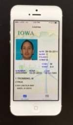 Iowa's smartphone driver's license will first be piloted by some state employees. (via Iowa Department of Transportation)