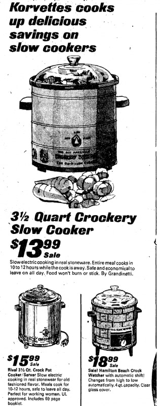 The unfulfilled promise of the Crock-Pot, an unlikely
