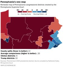 Pennsylvania Congressional District Map