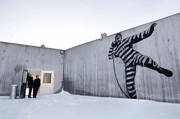 Norwegian prison art (Trond Isaksen/ Statsbygg, WAPO)