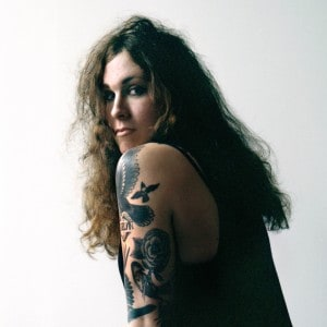 Punk rock singer, songwriter and guitarist Laura Jane Grace of Against Me! (Leslie Lyons)