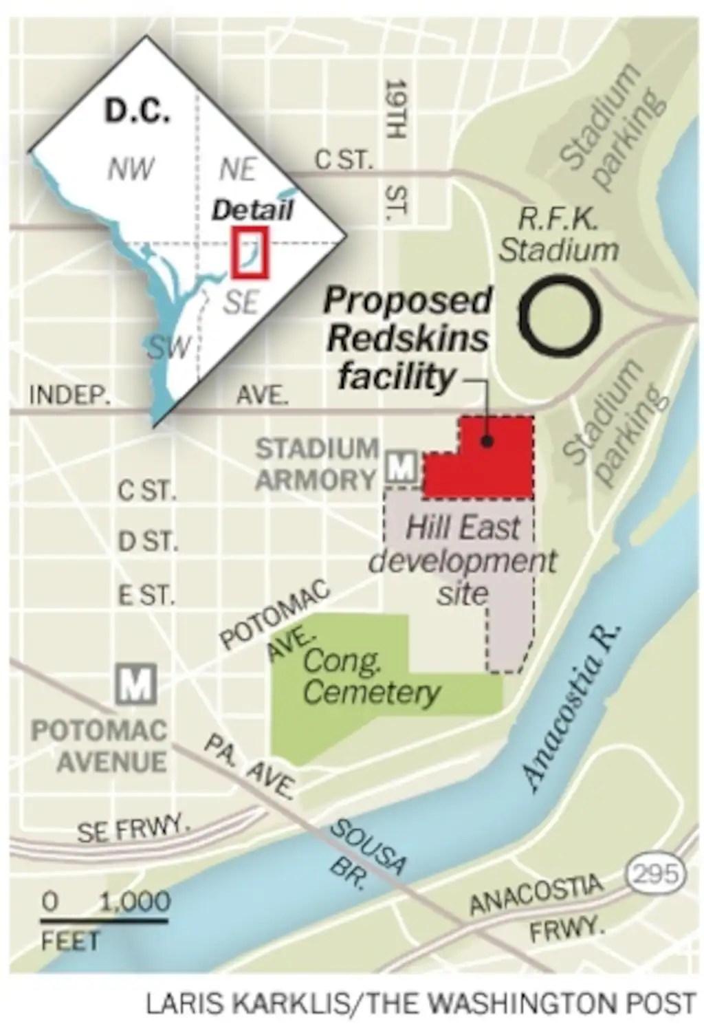 Redskin Stadium Map : redskin, stadium, Hopes, Redskins, Washington