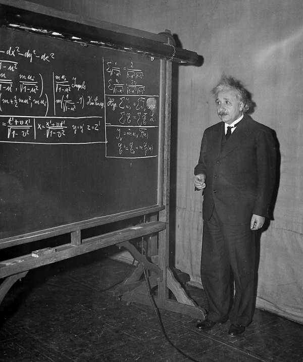 Albert Einstein Bad Student Failed Math