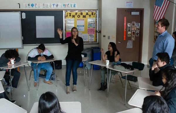 Nonprofit Group Hopes Education Reduce Latina Teen