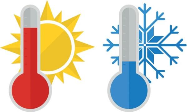 Hot Temperature Clip Art