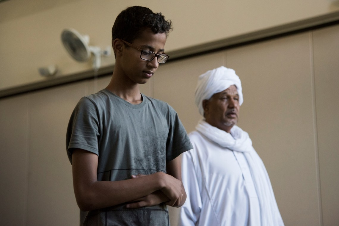 A year ago, Ahmed Mohamed became 'Clock Boy.' Now, he can't escape that moment.