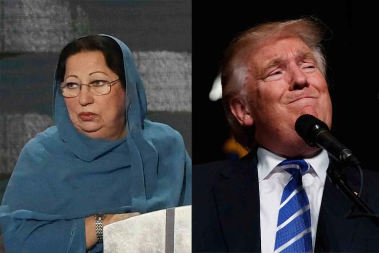 Ghazala Khan Donald Trump