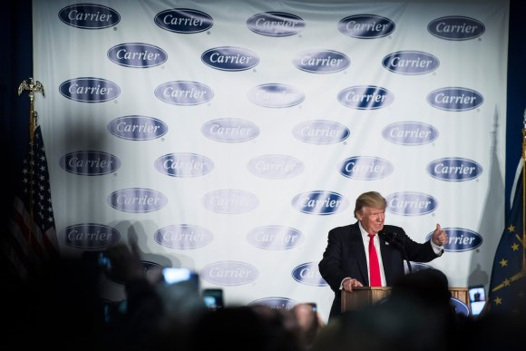 Analysis | Trump said he would save jobs at Carrier. The layoffs start July 20.