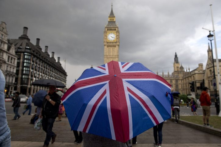 In historic break, Britain gives formal notice it is leaving the European Union