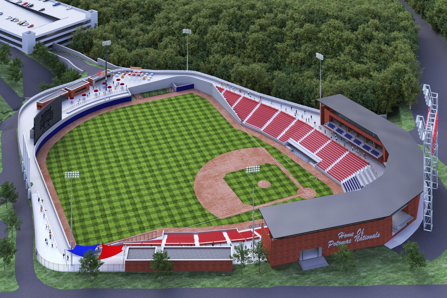 Potomac Nationals Stadium Address Year Of Clean Water