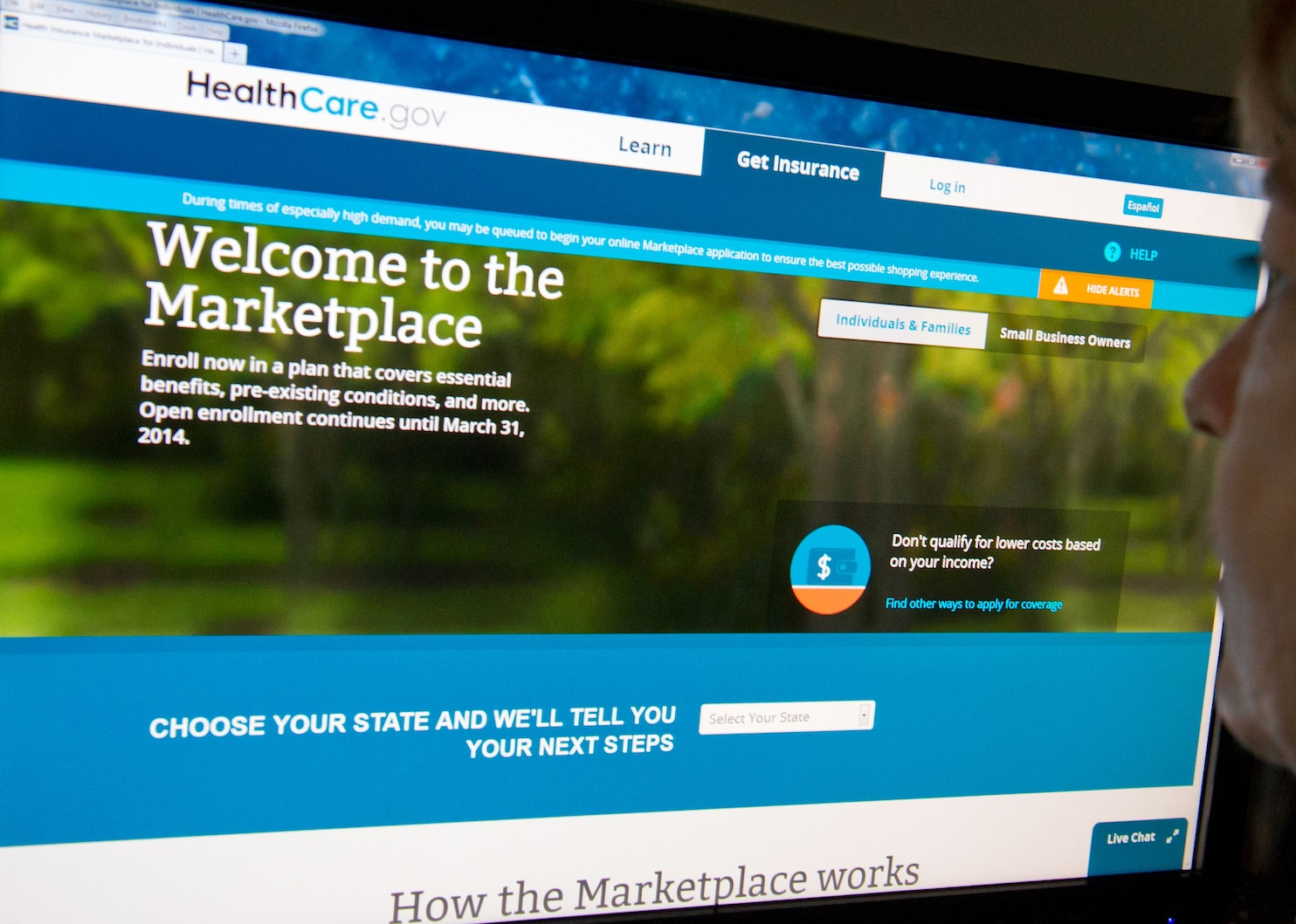Government investigators were able to procure health plans and federal subsidies for fake applicants. (Karen Bleier/AFP/Getty Images)