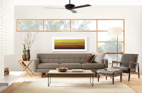 mid century modern living room led lights why is forever the washington post board s andre sofa 1 699 4 599 roomandboard com