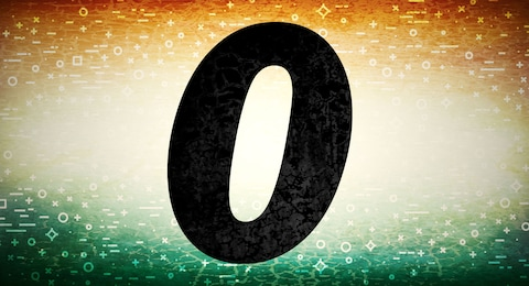 Indians Are Certain They Invented The Zero But Can Prove It