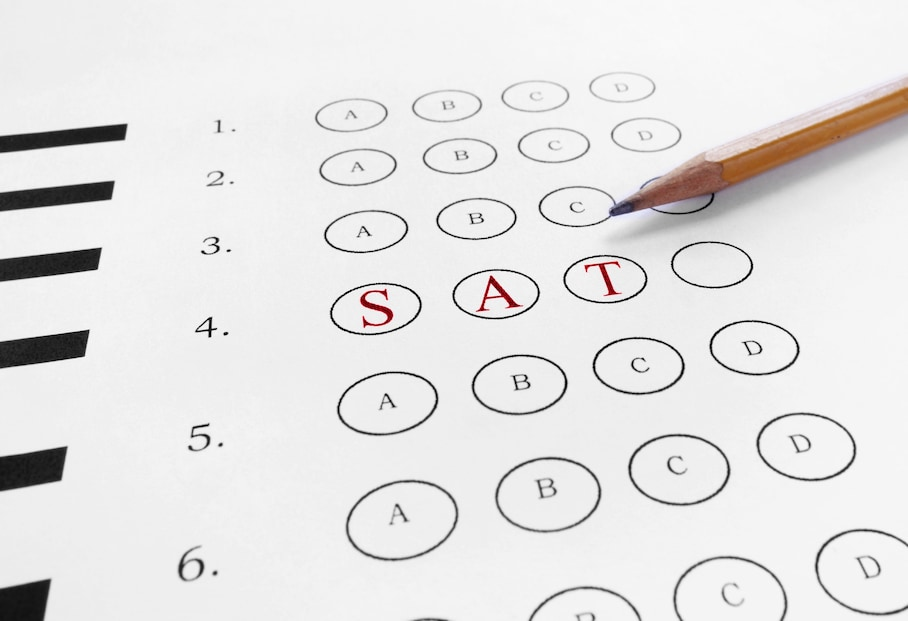 This test can help you decide which SAT exam to take, the