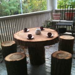 Toddler Table And Chair Set South Africa Dining Covers Dunelm Mystery Patio Possibly Made From Fallen Tree Turns Up