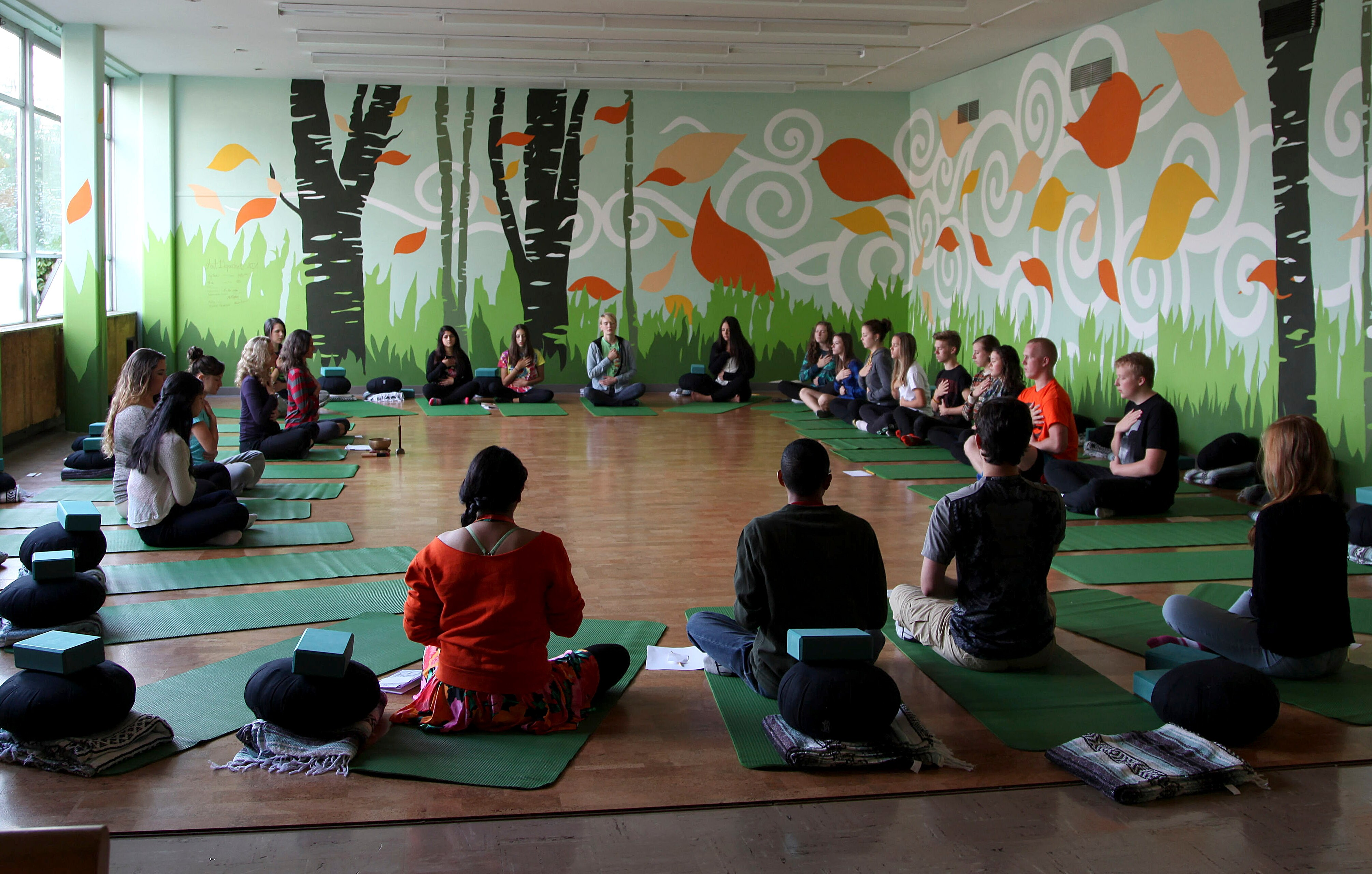 Mindfulness Training Helps Teens Cope With Stress And