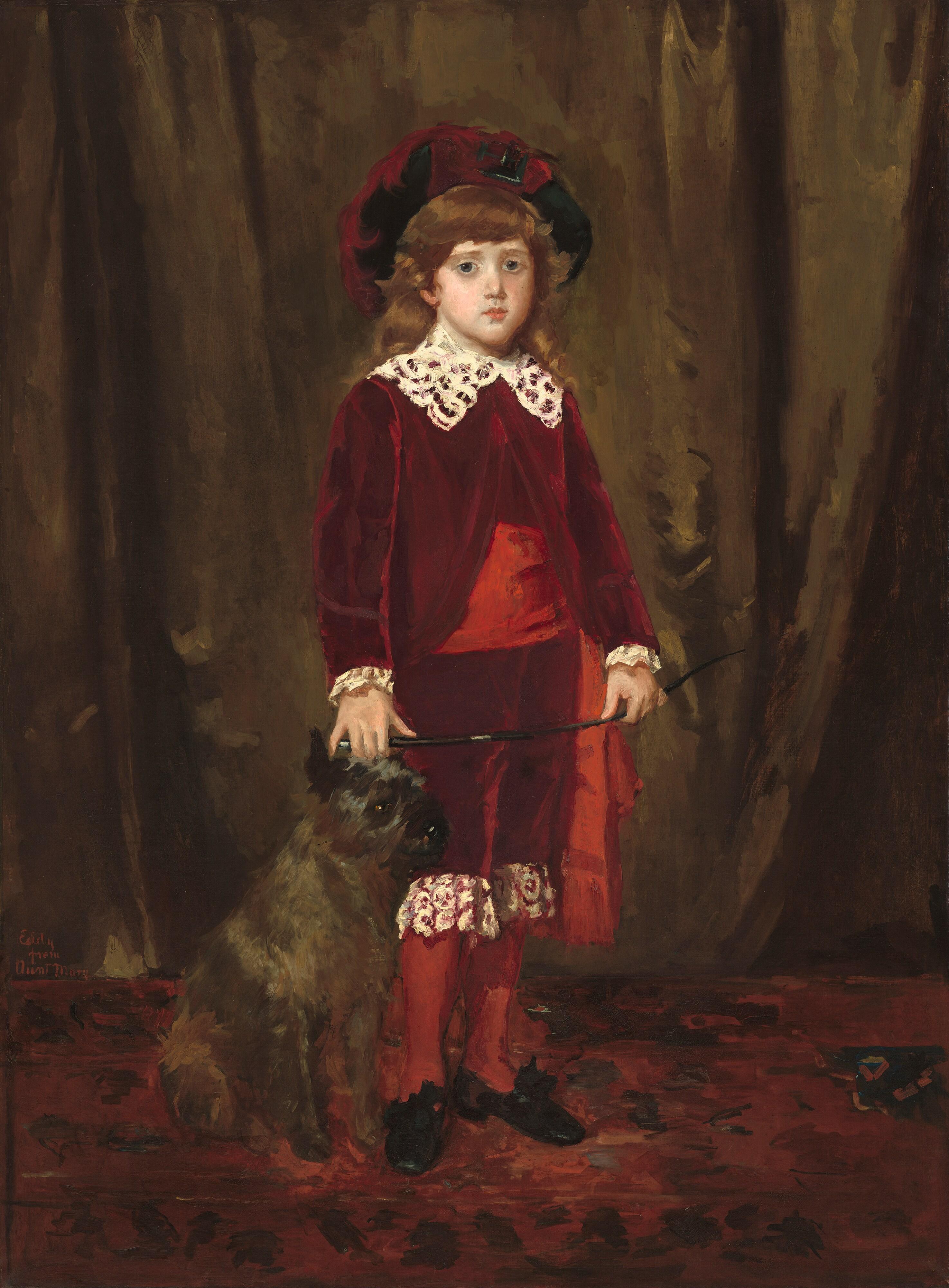 Cassatt Portrait Of Grandpa Home National Art - Washington Post