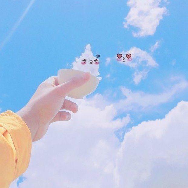 Ada pp wa couple dinosaurus, anime, aeshtetic, lucu, dan masih banyak lagi! Wallpaper Aesthetic Cloud Wattpad
