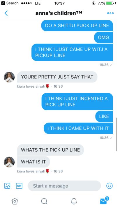 Dm Pick Up Lines : lines, Lines, Wattpad