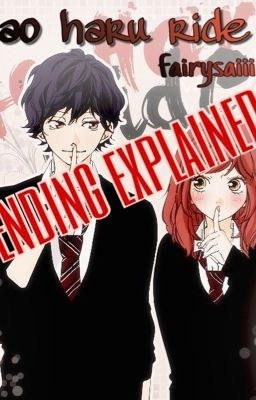 Ao Haru Ride Episode 13 : episode, Ending, Summary, Explained, Wattpad