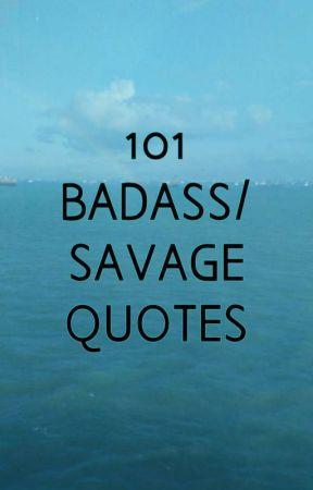 Attitude Savage Quotes : attitude, savage, quotes, Badass, Savage, Quotes, Language, Wattpad