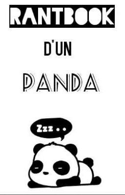 Chanson Je Ne Suis Pas Un Panda : chanson, panda, Rantbook, Panda, Aesthetic, Wattpad