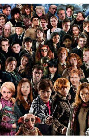 Les Personnages D Harry Potter : personnages, harry, potter, Personnages, Harry, Potter, Introduction, Wattpad