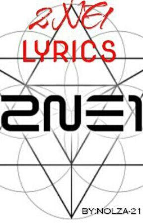 Lirik Lagu Lonely 2ne1 : lirik, lonely, Lyrics, English, Wattpad